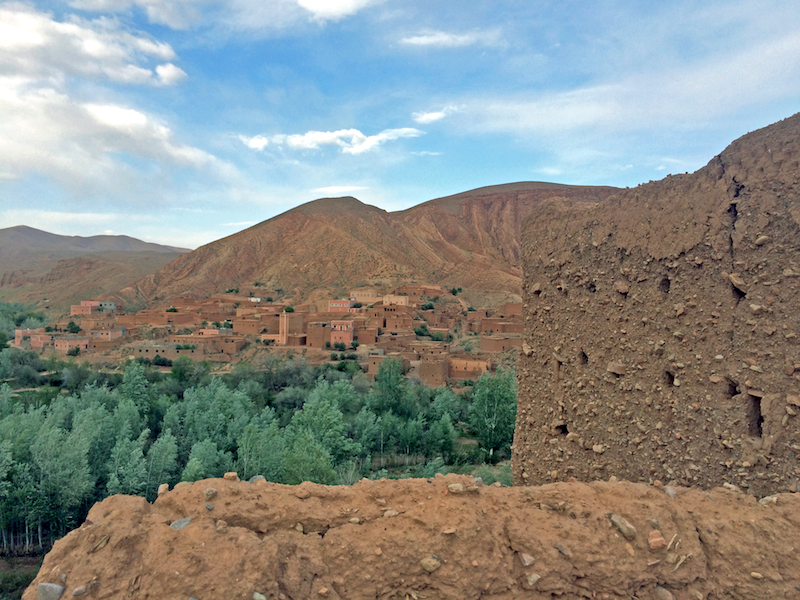 View from a Moroccan Kasbah