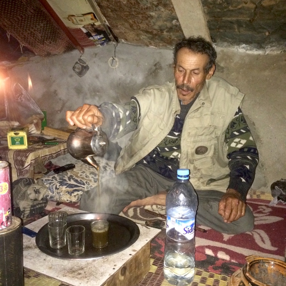 Tea Time in Moroccan Sahara