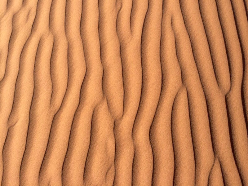Artistry of the Sahara - Shapes in Sand