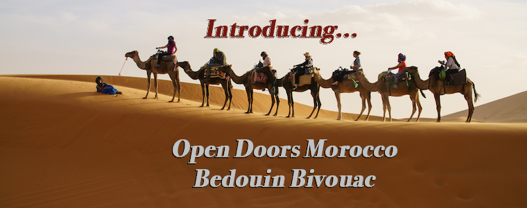 introducing open doors morocco bedouin bivouac