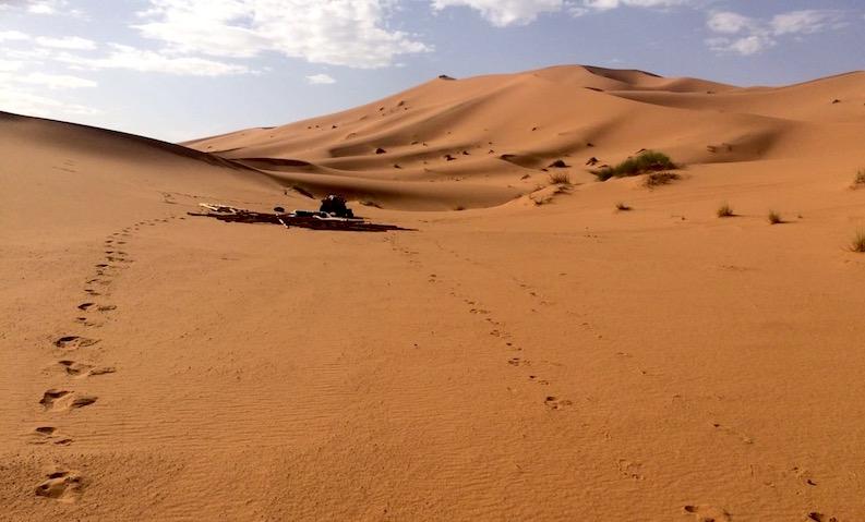 Site of Open Doors Morocco Bedouin Bivouac
