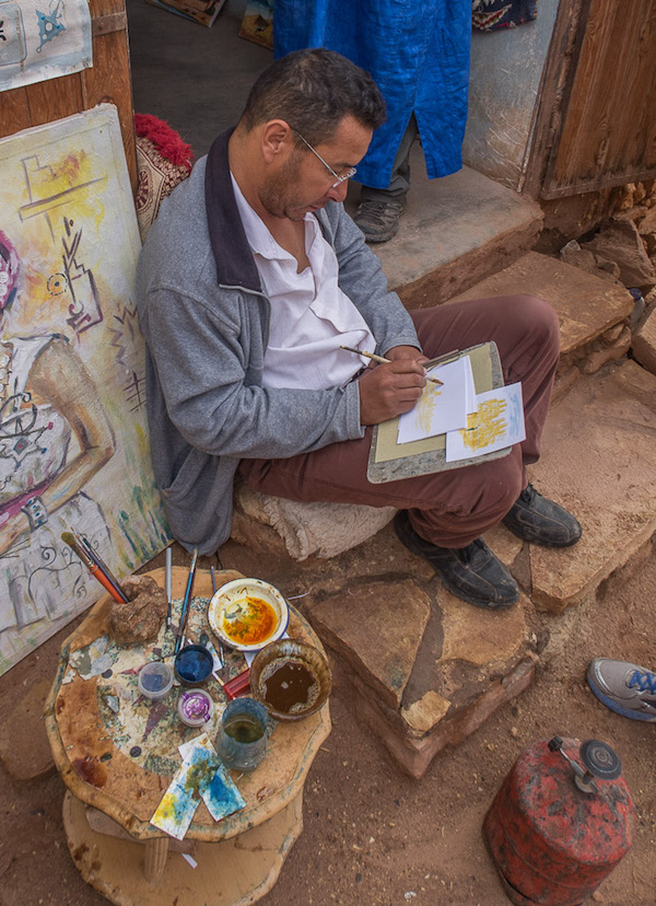 abdou berber fire painter 2